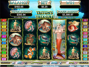 Triton's Treasure Bonus Game