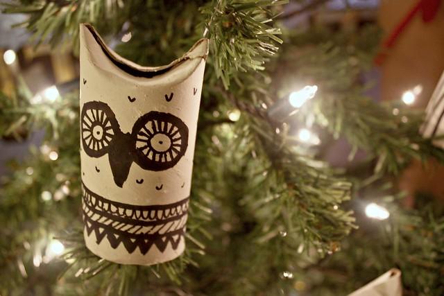 Owl Tree Decorations