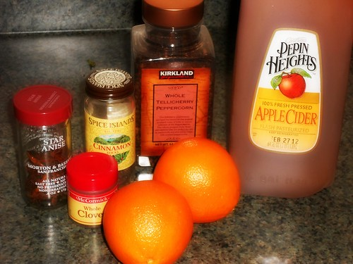 spiced cider ingredients