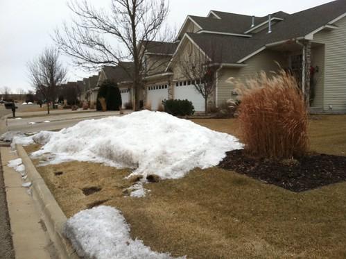 Neighborhood snow