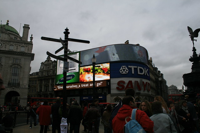 Piccadilly Circus de Londres