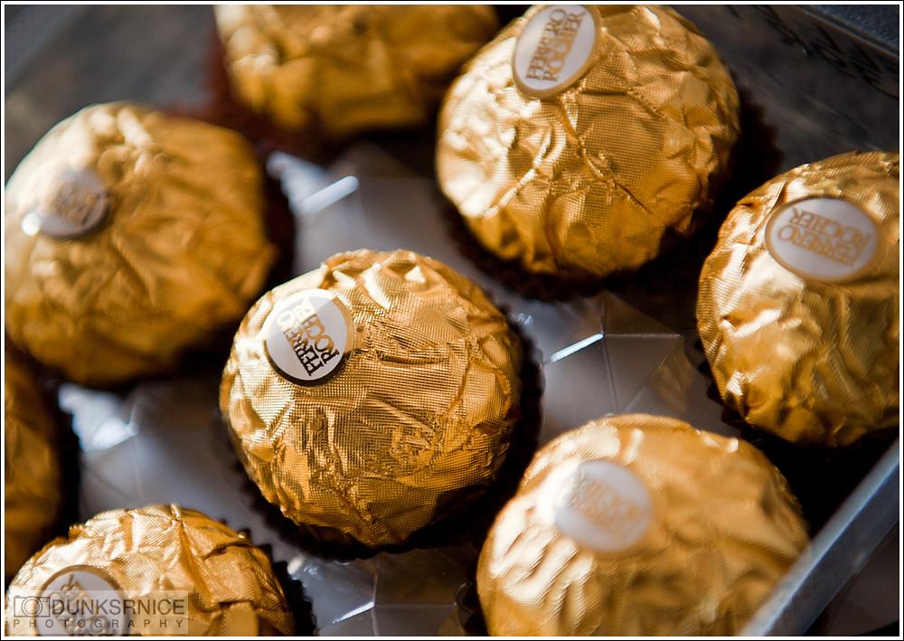 Ferrero Rocher.
