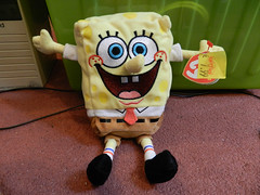 SpongeBob beanie baby