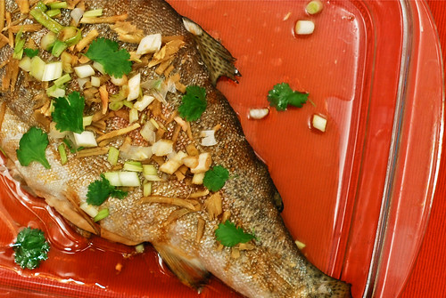 kantoni kala/steamed fish kanton style