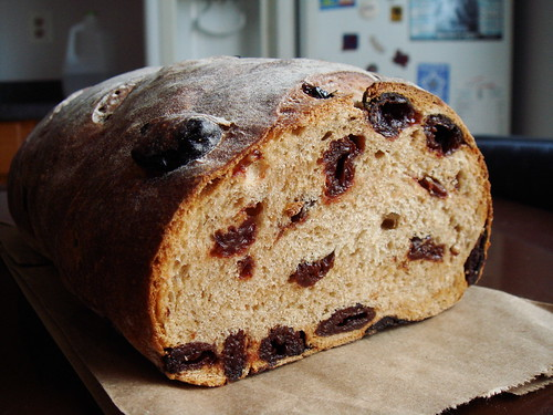 Cherry Cardamom Bread