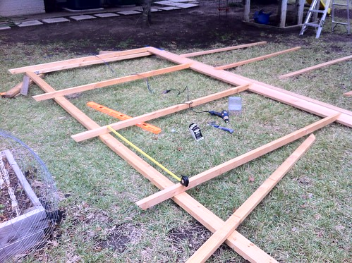 Spacing out and laying out the rafters
