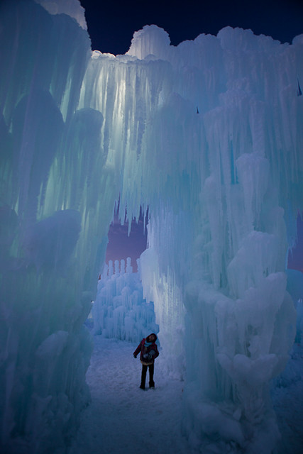 Ice Castle Silverthorne Photo Courtesy Kendra Garvin