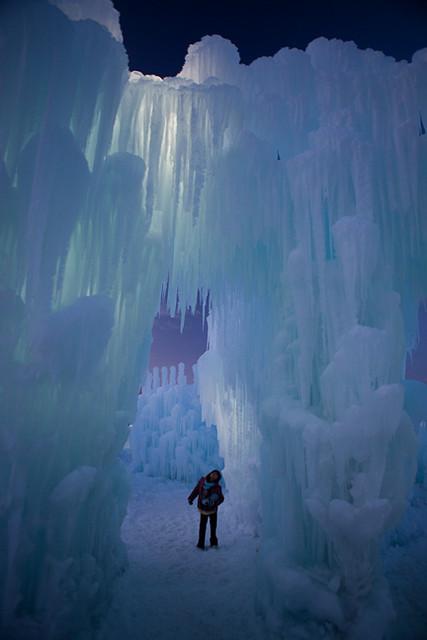Ice Castle Silverthorne Photo Courtesy Kendra Garvin