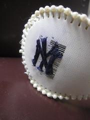 Custom Yankee Baseball Cuff!