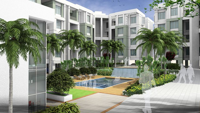 Amenities: Swimming Pool - 2 BHK Flat for Rs. 25 Lakhs at Urbangram Kirkatwadi on Sinhagad Road, Pune 411 024