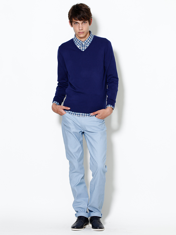 UNIQLO EARLY SPRING STYLE FOR MEN 2012_001Ethan James