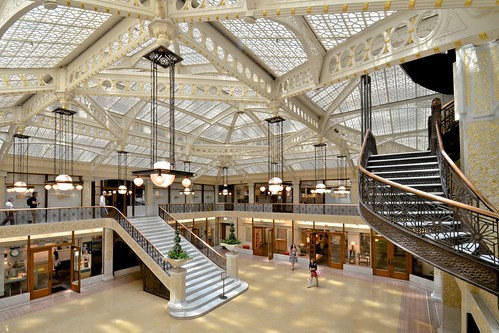 """""""There is nothing bolder, more original, or more inspiring in modern civic architecture than its glass-covered court"""""""