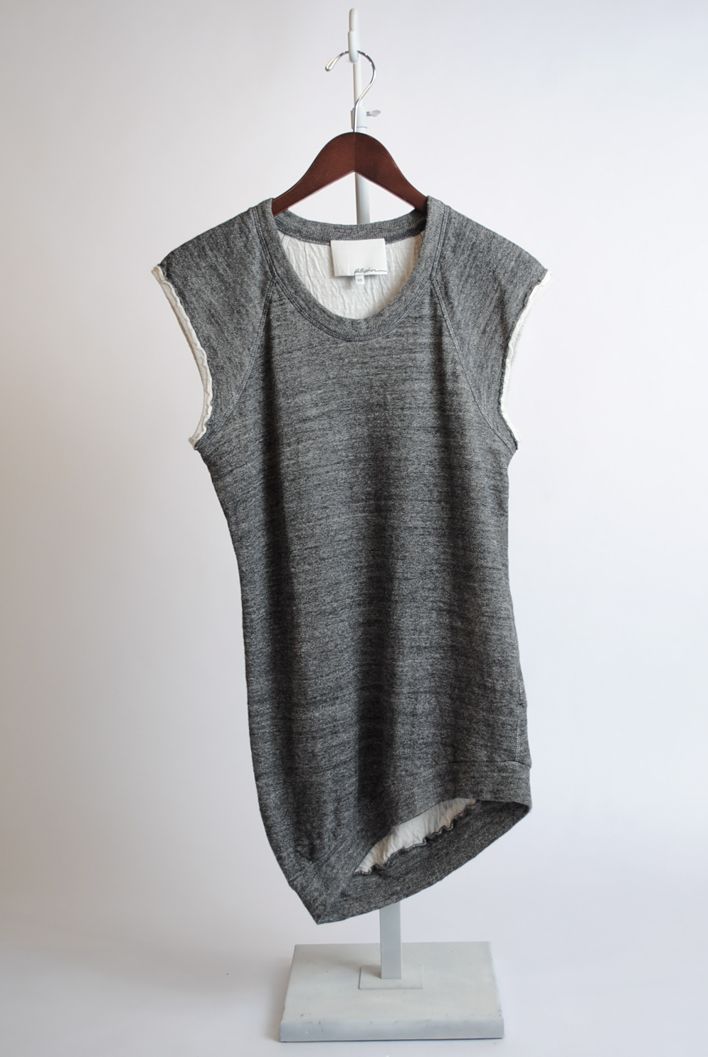 Cut-off Sweatshirt Tunic
