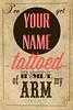 TATTOED Lyrics: American Slang