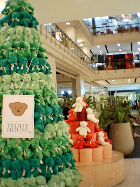 Teddy House Christmas Tree(?) @ Central World