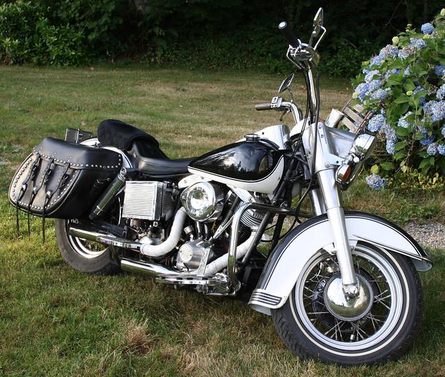 1974 74 Cubic In. Harley Davidson Shovelhead FLH. Terrific Bike