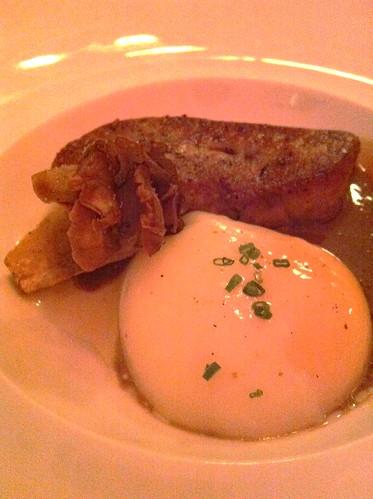 egg foie gras
