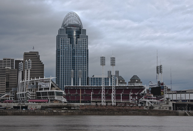 The great american ball park and great american insurance for Great american builders