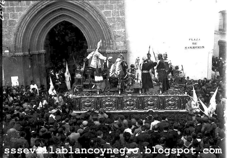 Nuestro Padre Jesús ante Anás 1921-1922 La Bofetá