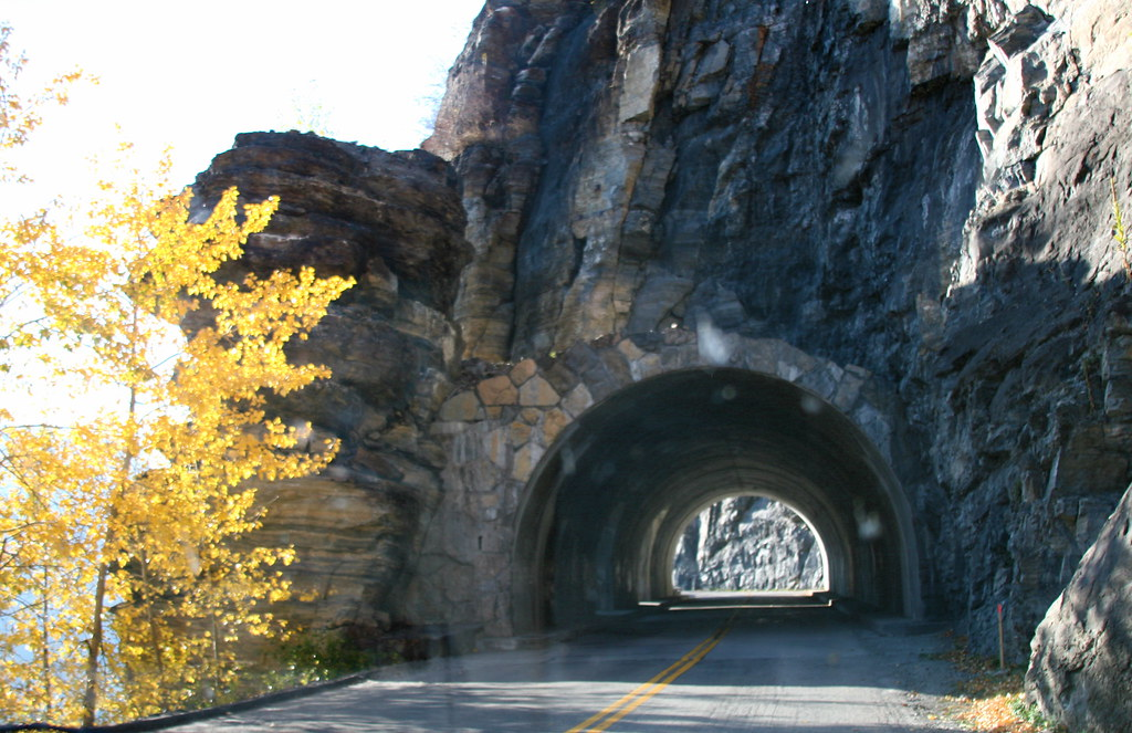 Tunnel in Glacier