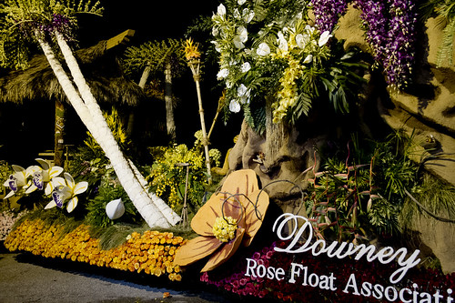 Downey Rose Parade float 2012