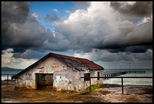 door camera bridge sea sky cloud seascape building abandoned rain canon eos coast pier decay cyprus sigma 1d eos1d polis 2040 sigma2040f28