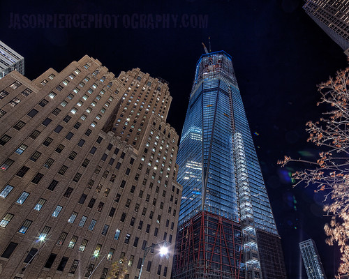 freedom tower / 1 wtc nov 28th 2011