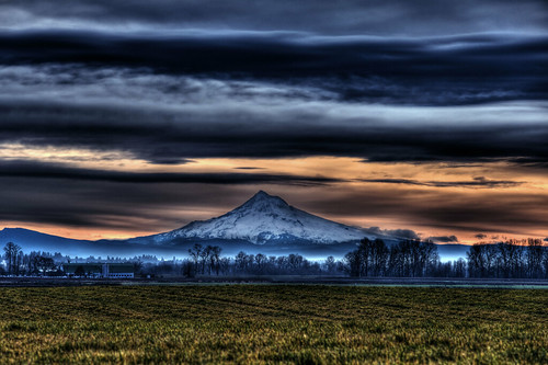 Mt. Hood from Sauvie2