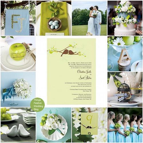 love bird wedding theme