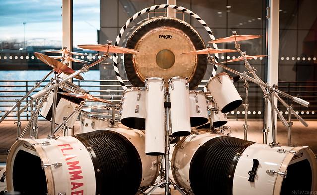 Alex Van Halen S Drum Kit Flickr Photo Sharing
