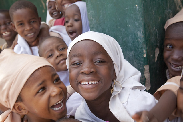 Children at Dukawuya Special Primary School in Nigeria