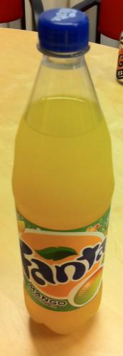 Coka Cola - Fanta Mango 1 by softdrinkblog
