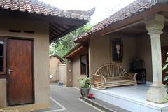 Típica casa balinesa