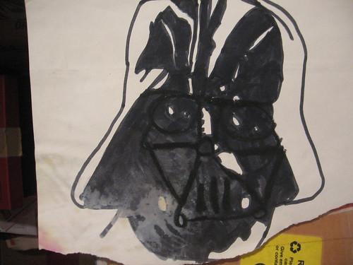 Star Wars Darth Vader - T. Burke illustration 1980ish
