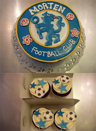 footballCLUBCAKE by CAKE Amsterdam - Cakes by ZOBOT