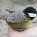 Crochet titmouse