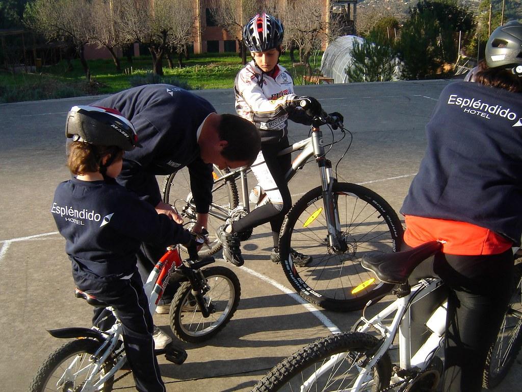 Escola de Ciclisme 7-01-2012.