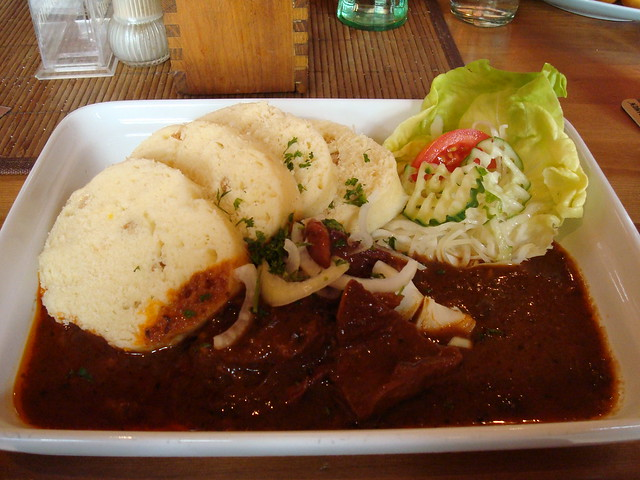 Beef Goulash with Dumplings - Prague | Flickr - Photo Sharing!