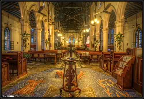 St John´s Cathedral Central por R.K.M.