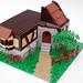 Castle Inn/tavern/house thingy WIP 2 by AceBricks