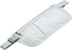 Body fitting money belt with three internal compartments
