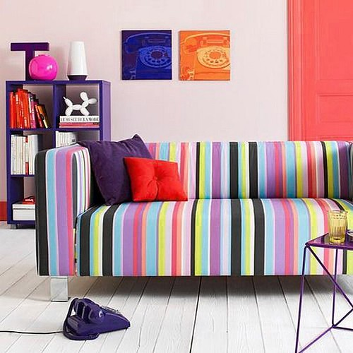 contemporary designer sofa 3-seater