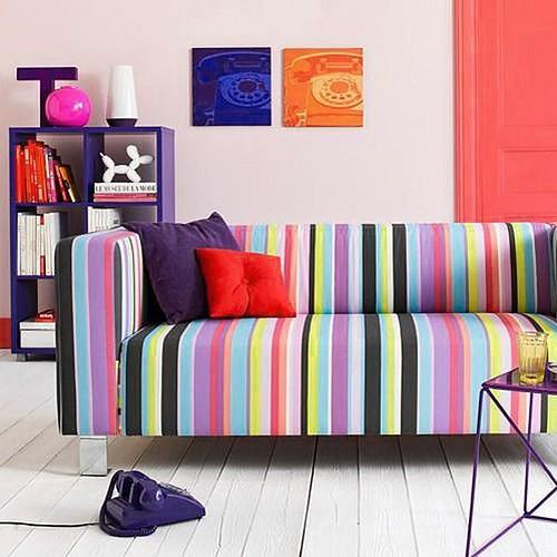 contemporary designer sofa 3-seater