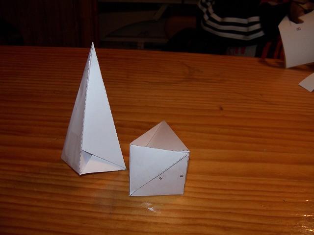 Nueva imagen del poliedro de Császár: Luis y Rafa