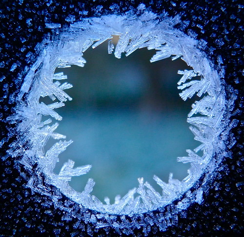 Frozen hole
