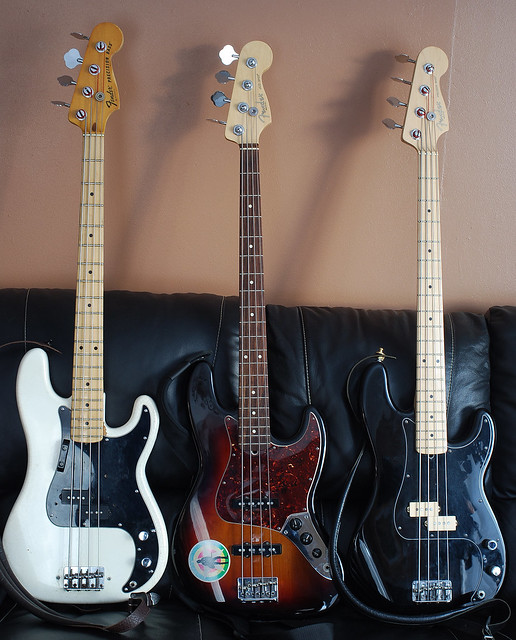 Photo:Basses By Don Wright