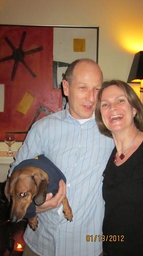 Lori Martin, Bruce Moir, Burger