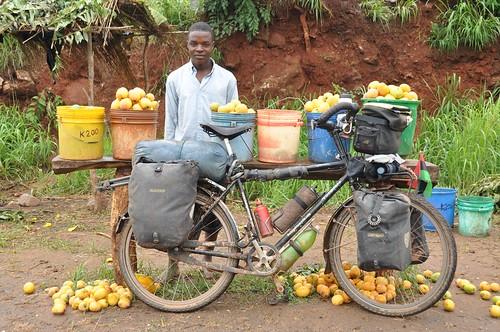 Mango seller