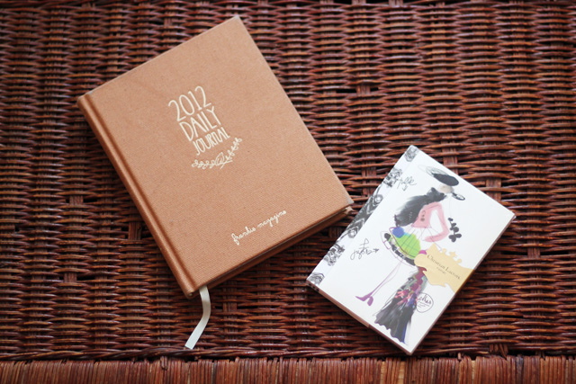 frankie magazine 2012 daily journal christian lacroix notebook