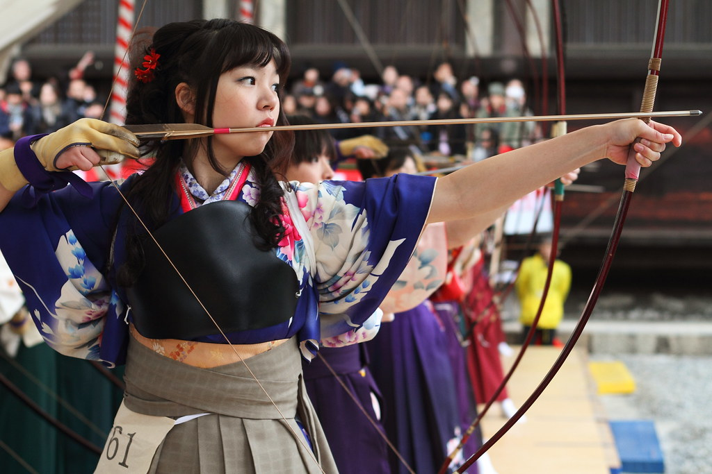 Kyudo ---The Japanese art of archery---
